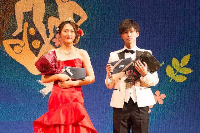 後藤威尊のミスターコン優勝写真