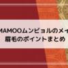 MAMAMOOムンビョルの眉毛のメイク