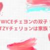 TWICEチェヨンの双子